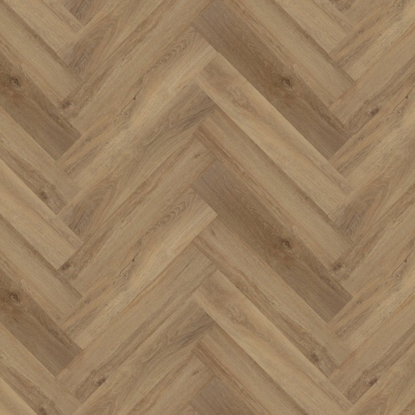 Виниловые полы Green Flor GWF 571 Oak original Timeless tan Елочка